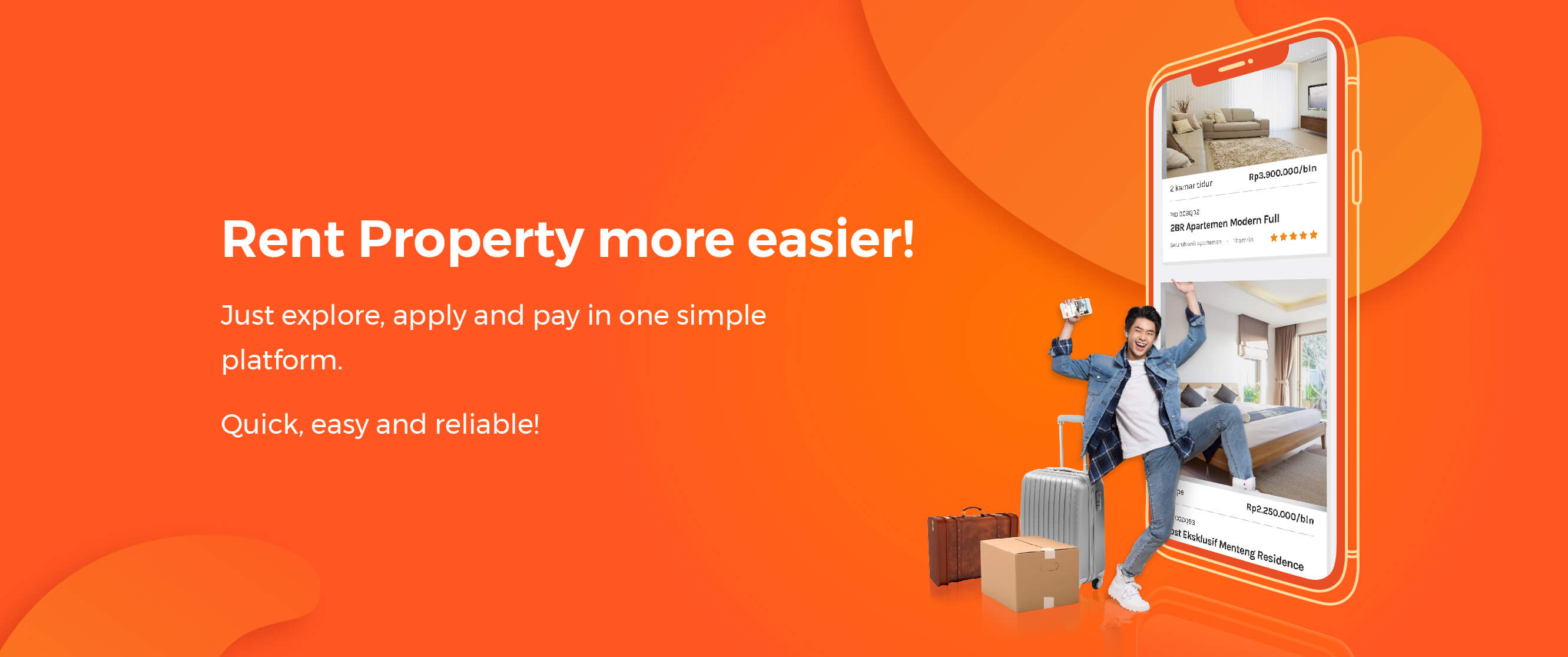 Rent property more easier